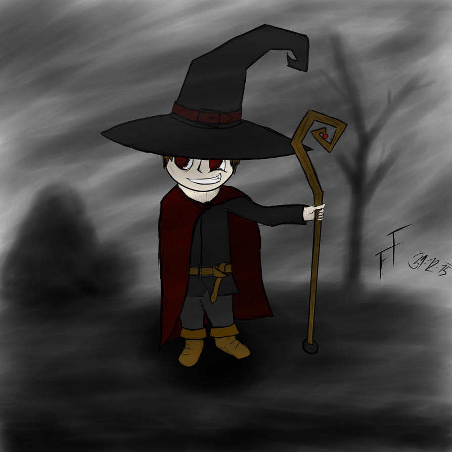Nob the little warlock? by FalconFeather-s
