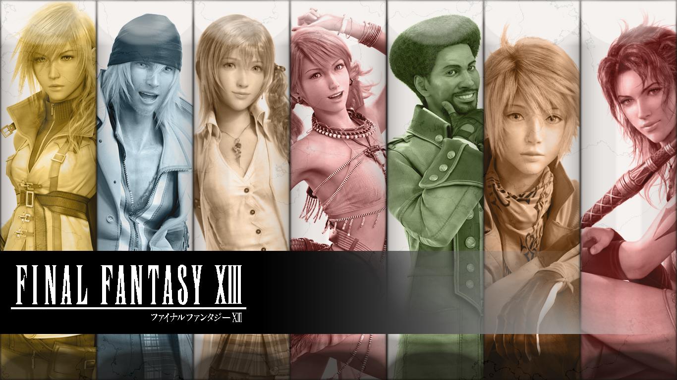 Final Fantasy 13 Wallpaper Widescreen