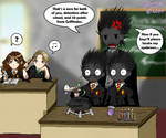 Trouble in Potions...