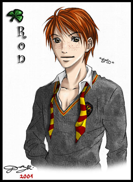 HP Character 4 - Ron Weasley by Tanci