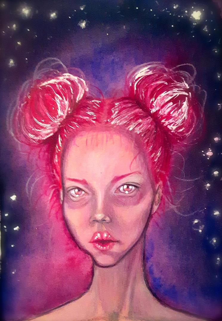 Spacegirl by ExLibrisInterInta