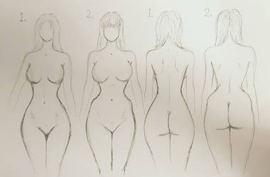 Two Types of Hourglass Figures by ExLibrisInterInta