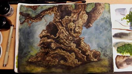 Fantasy Tree by ExLibrisInterInta