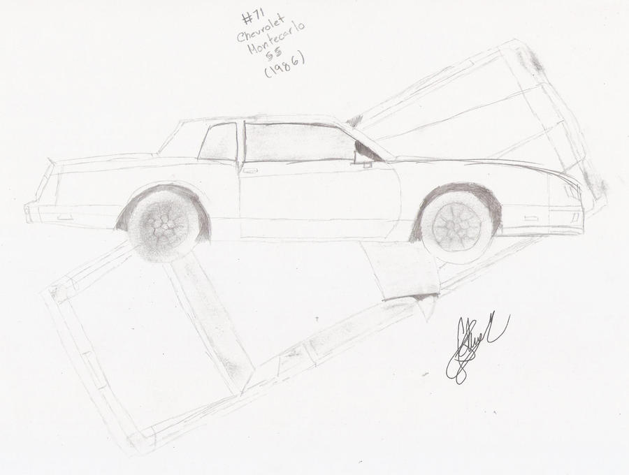 71 chevrolet montecarlo ss by morillonetesse on deviantart
