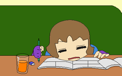 Tired drawing by Tredis