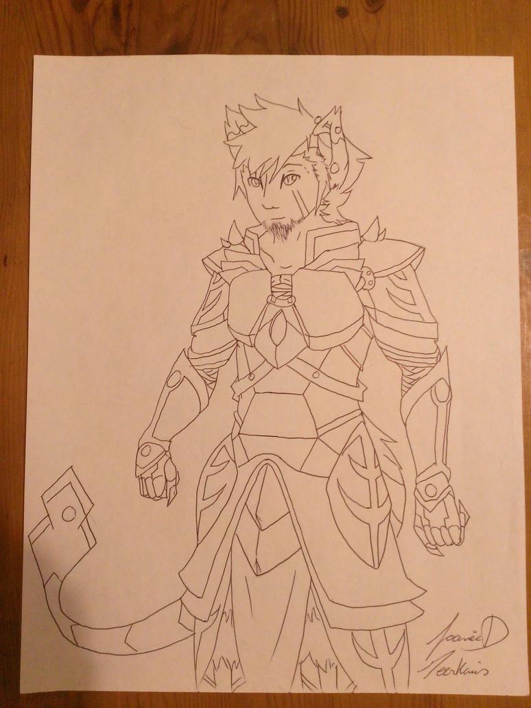 warrior Lloyd by meerkamis