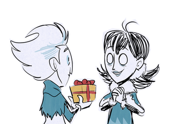 Drawcember 12 - Gift by ItsTheBlob