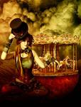 Steampunk Circus Doll