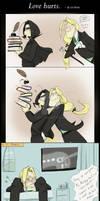 SL: Love hurts.
