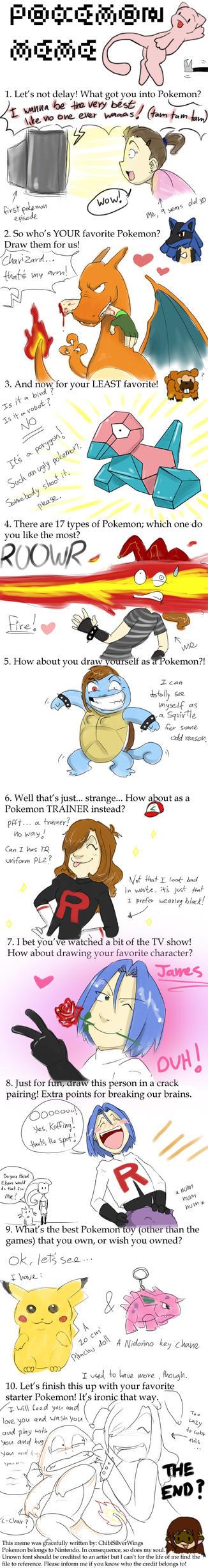 pokemon meme by gilll