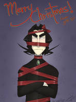 Snape: Merry Christmas by gilll