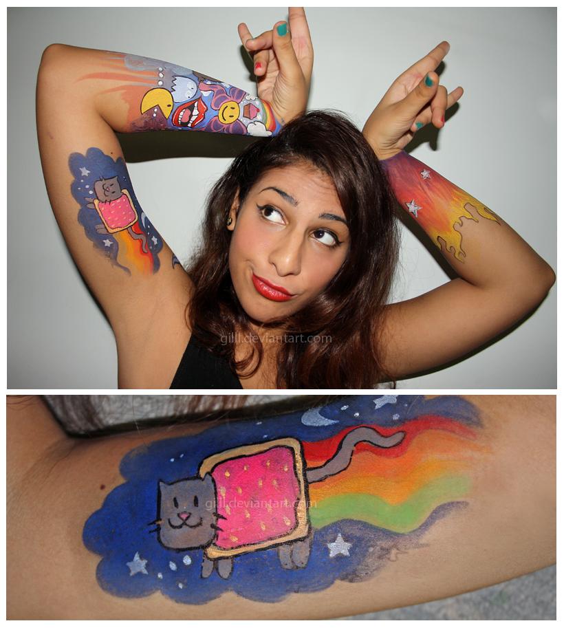 Nyan by gilll