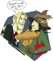 Commission: Boggart or not... by gilll