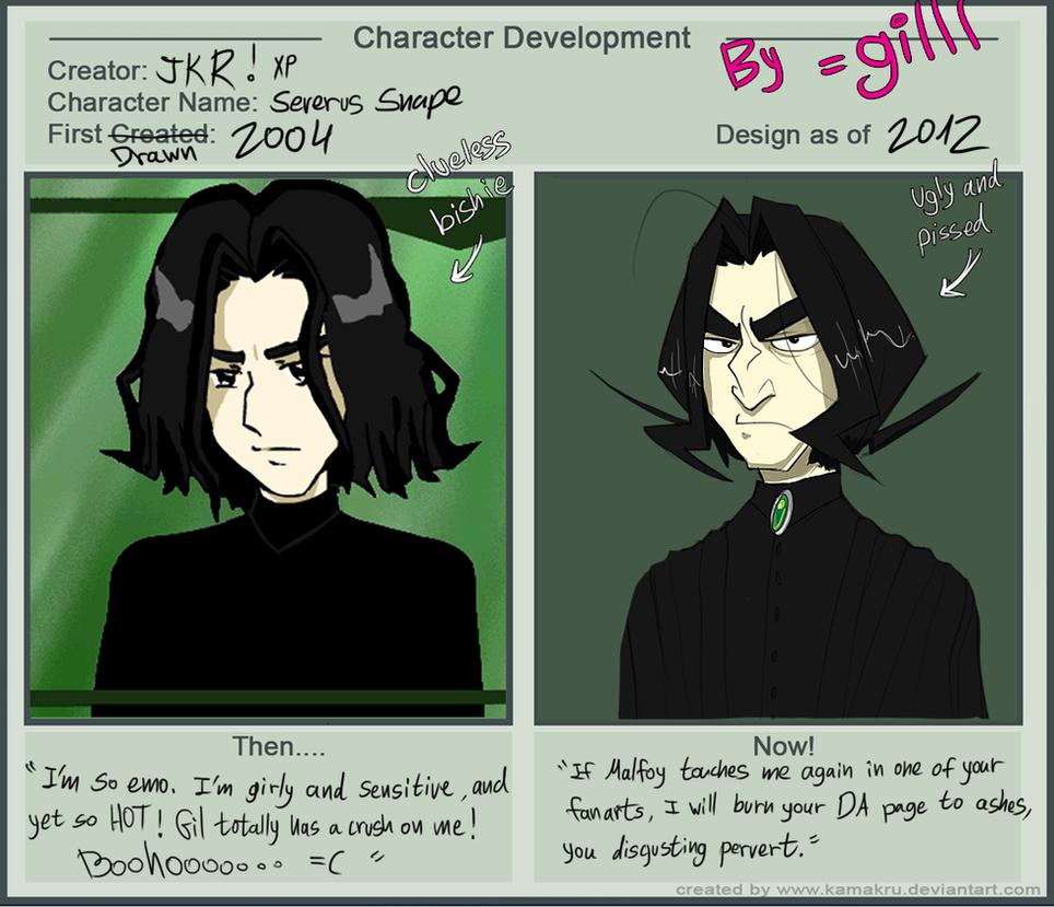 Character Design Meme : Character development meme snape by gilll on deviantart