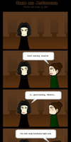Snape and McGonagall- comic