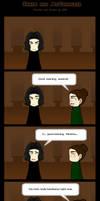 Snape and McGonagall- comic