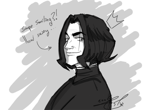 Snape's new styyyle by gilll