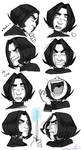 8 Snape expressions