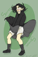 Severus Snape- Monroe style by gilll
