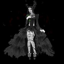 Succubus - Wedding Dress by CountessGrey
