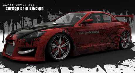 RX-8: Carbon Drip Edition