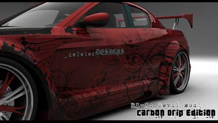 RX-8 -Carbon Drip- PSP W.paper