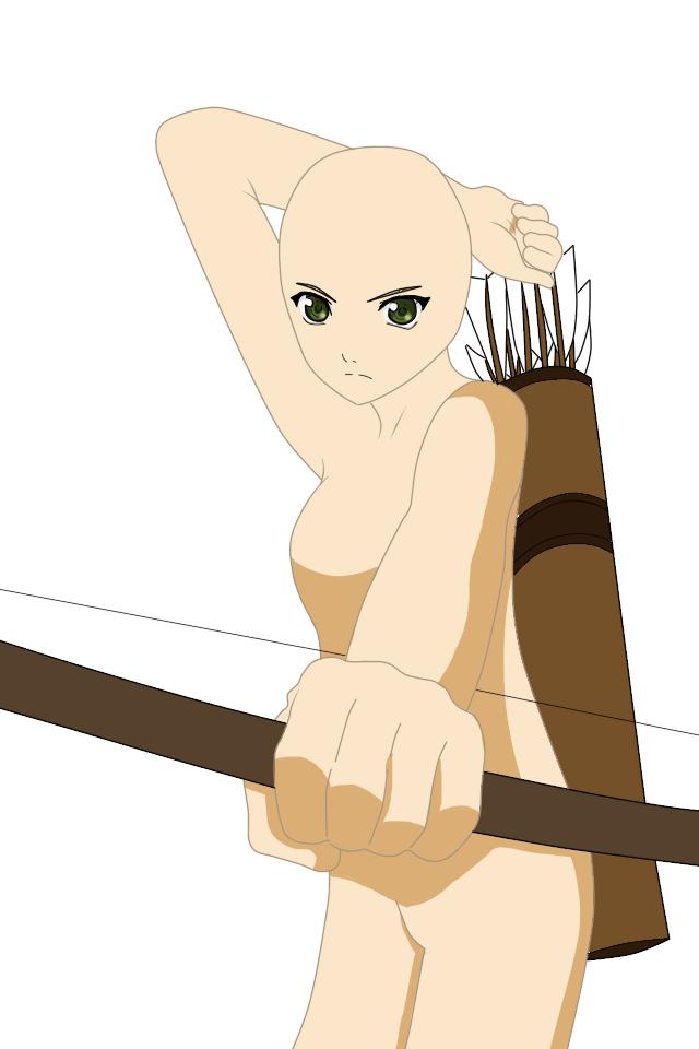 Female Base 11 by Kinux3