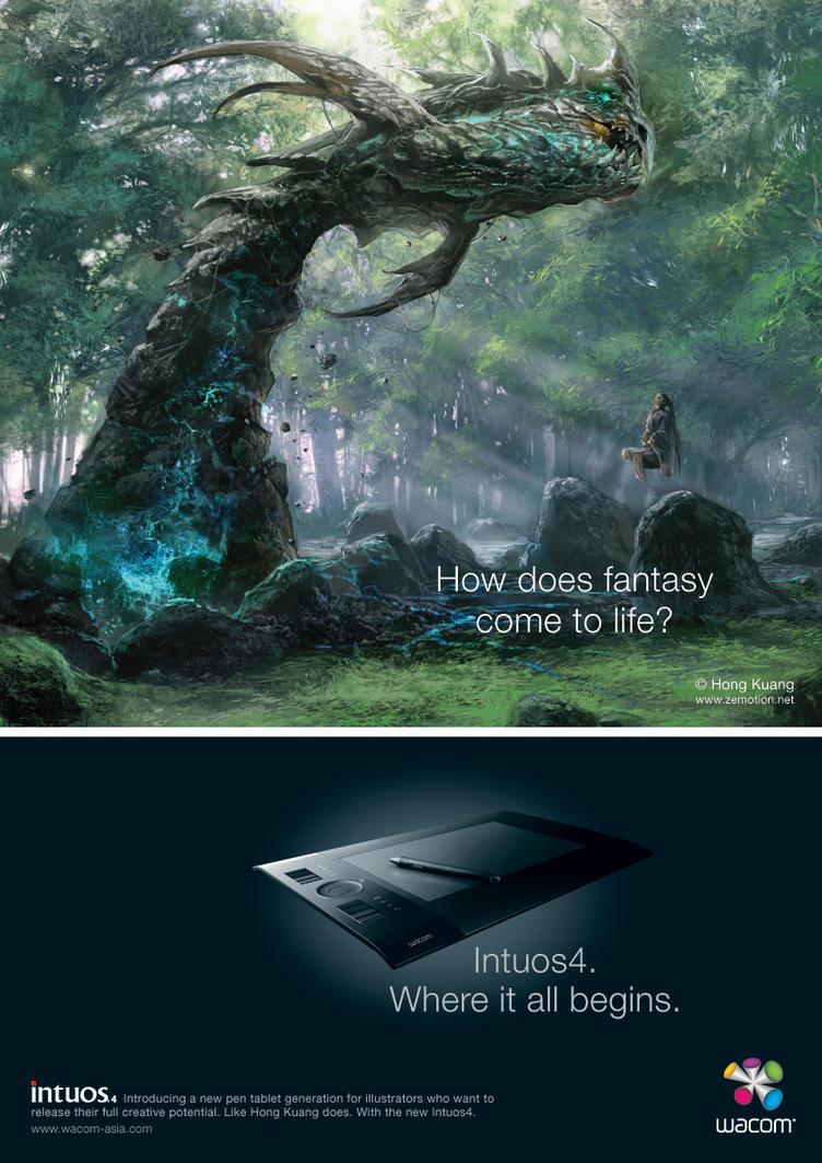 Intuos4_Fantasy by wacom