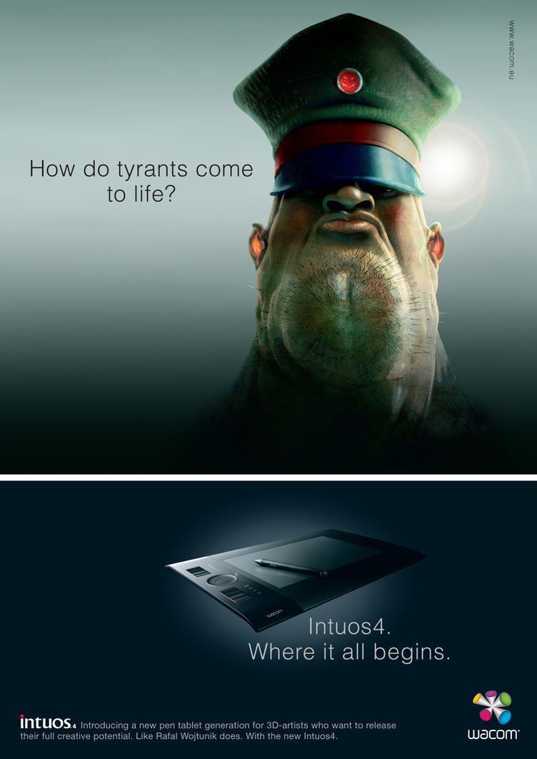 Intuos4_Tyrants by wacom