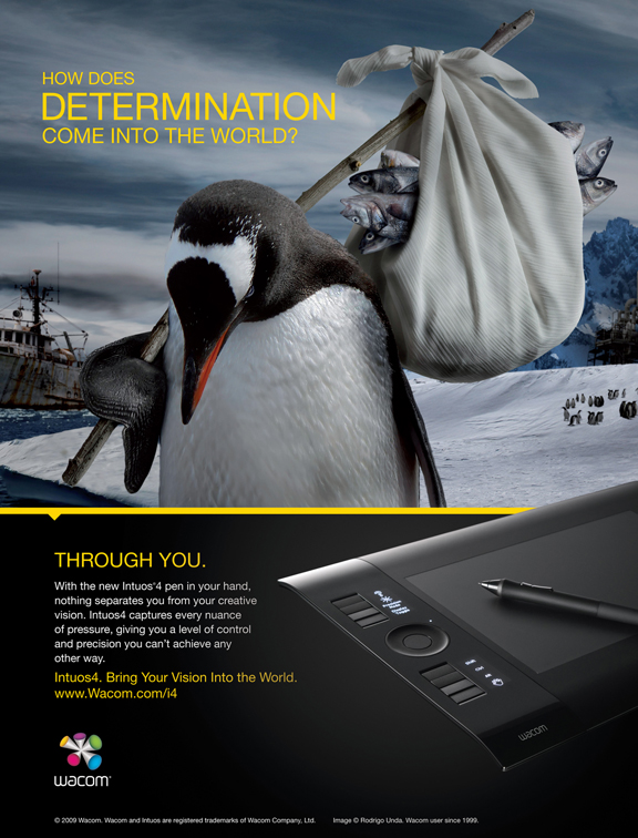 Intuos4_Determination by wacom