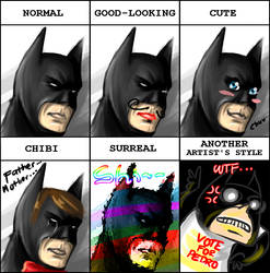 Batman Style Meme by kanazuchi92