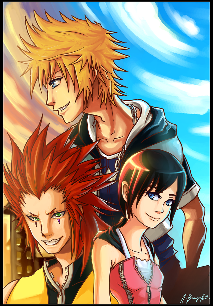 Kingdom Hearts Days by kanazuchi92
