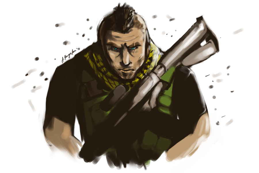 Soap MacTavish by kanazuchi92
