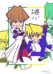 Seto and Jonouchi