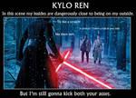 Kylo Ren the Black Knight