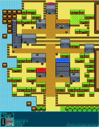 Pokemon Goldenrod City Oracles Style by leinglo