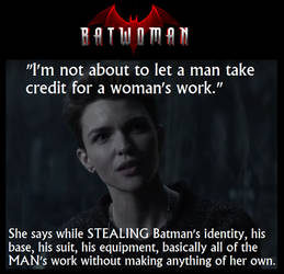 Hypocrisy Thy Name Is Batwoman by leinglo