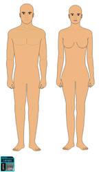 Male Female Base Template