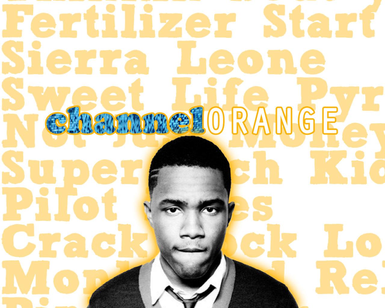 Frank Ocean Channel Orange Wallpaper by TheHoodgirl on