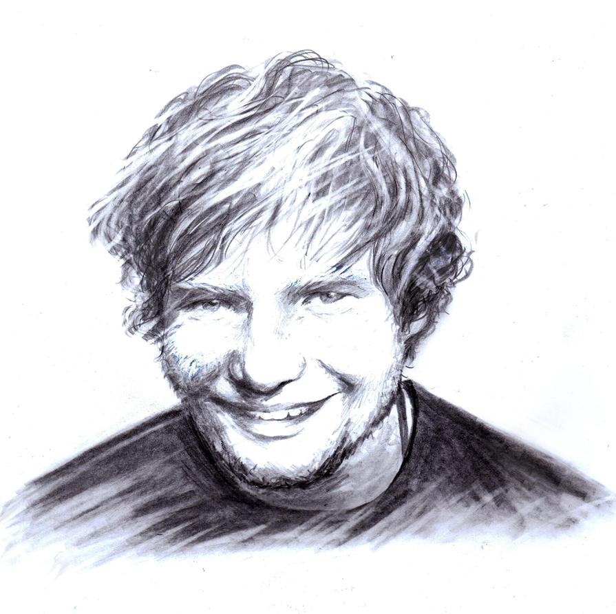 Ed Sheeran by dariemkova