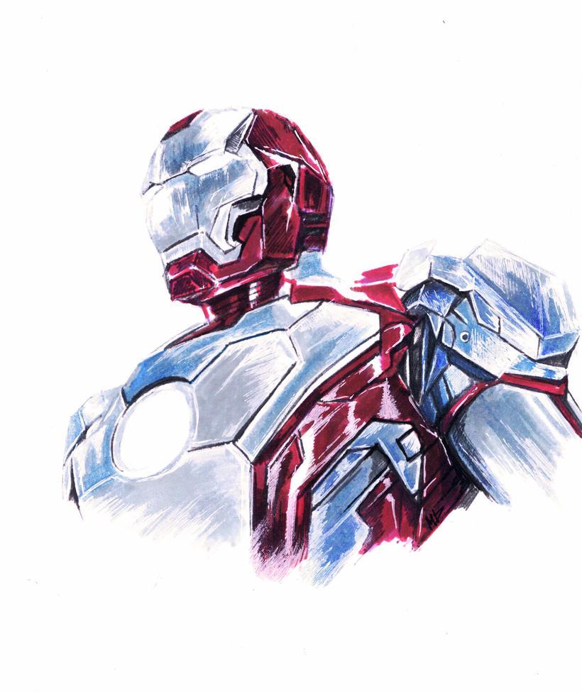 Iron Man by dariemkova
