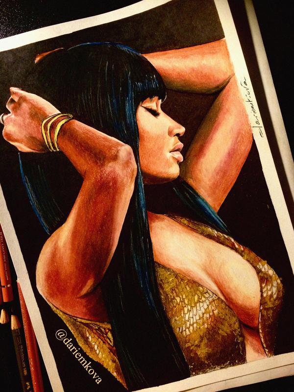 Nicki Minaj by dariemkova