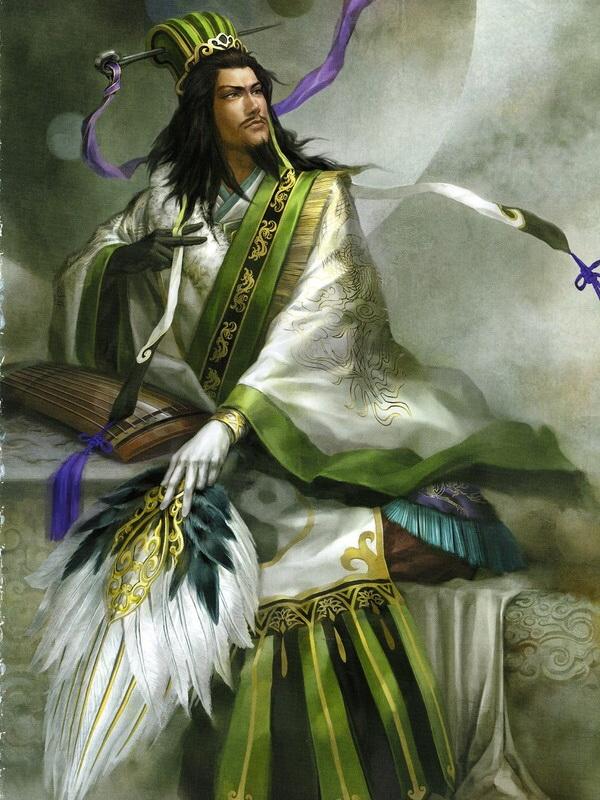Zhuge Liang Artbook white movi Zhuge Liang Wallpaper