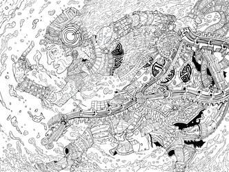 Tlaloc-Ink by DougDougmann