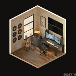 Home Studio by Isometry3D
