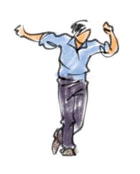 Greek Dancing Man