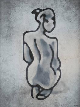 Sitting nude - 2