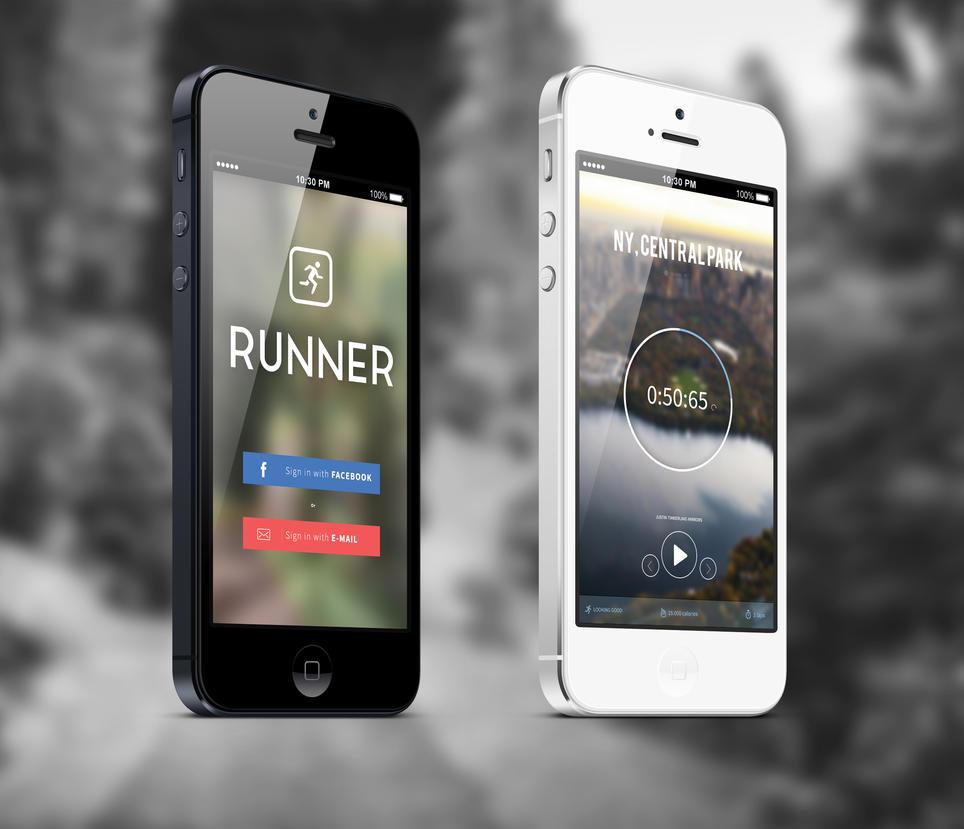Runner app by shdrf
