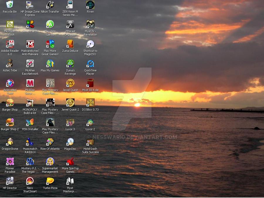 Desktop 01-2010 by NessWario