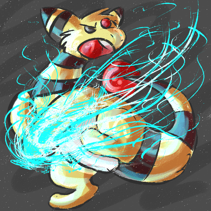Ampharos used THUNDERPUNCH by HearTheVoices